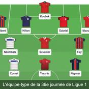 Ligue 1 : notre équipe-type de la 36e journée