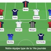 Ligue 1 : Pablo, Rongier, De Préville... Notre équipe type de la 14e journée