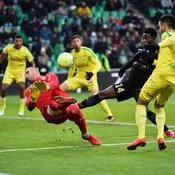 Malmené par Nantes, Saint-Etienne s'enfonce un peu plus