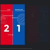 Lille-Montpellier : les chiffres marquants