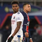 Thiago Mendes et Kylian Mbappé
