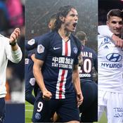 Marseille, Cavani, Guimaraes : le debrief stats du week-end de L1