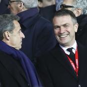 Nicolas Sarkozy et Oleg Petrov