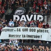 «Neymar = 44.000.000 de pintes», la banderole humoristique à Guingamp