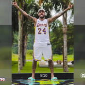 Neymar rend hommage à Kobe Bryant
