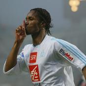 Didier Drogba sous le maillot de l'OM