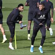 Neymar et Kylian Mbappé