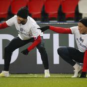 Neymar Jr et Kylian Mbappé
