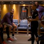 Quand le PSG rencontre l'équipe de basket des Hornets