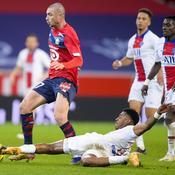 Quand Presnel Kimpembe réalisait un tacle héroïque face à Lille au match aller