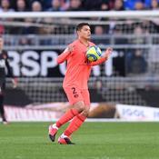Thiago Silva n'a pas reconnu son PSG en première période ce samedi, à Amiens.