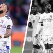 Memphis Depay et Moussa Dembélé