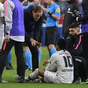 Thomas Tuchel et Neymar