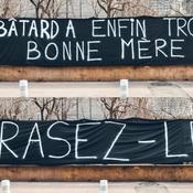 Une banderole insulte Mario Balotelli avant OM-Nice