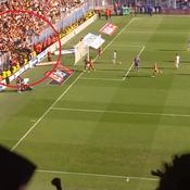 Une grille cède sous la pression lors du derby Montpellier-Nîmes