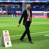 Arsène Wenger au Parc des Princes