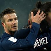 David Beckham PSG-OM