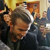 La folle journée de David Beckham