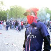 Les incidents à Paris en images