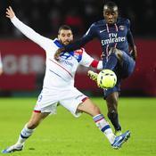 Paris SG - Lyon Lisandro Lopez-Blaise Matuidi