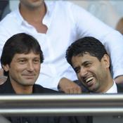 Leonardo et Nasser Al Khelaifi PSG