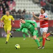 Saint-Etienne laisse échapper deux points à Reims