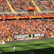 «Chuuute à Amiens» : une banderole polémique déployée à Lens