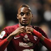 Diafra Sakho a déjà inscrit 11 buts en Ligue 2 avant la trêve