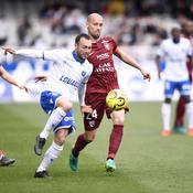 Auxerre stoppe l'hémorragie et accroche Metz