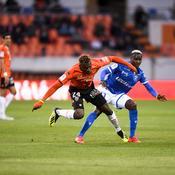 Auxerre arrache le nul à Lorient et prend un point utile