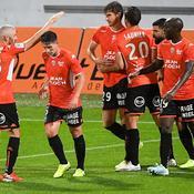 Lorient, vainqueur de Rodez, prend seul les commandes de la Ligue 2
