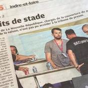 Ligue 2 : Polémique à Tours après l'interdiction de stade de deux journalistes