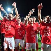 Nîmes fête sa montée : «Il y a trois ans, le club était mort, on est ressuscités»