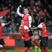 Le Stade de Reims prend la tête de la Ligue 2