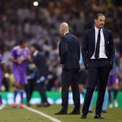 La détresse d'Allegri, le sang-froid de Zidane