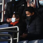 Nasser Al-Khelaïfi (avec la Maire de Paris, Anne Hidalgo, lors du récent PSG-Bayern)