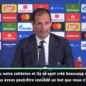 Allegri : «L'Ajax mérite de se qualifier et ne sort pas de nulle part»