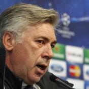 Carlo Ancelotti PSG-Barcelone