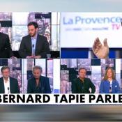 Bernard Tapie décroche son téléphone pour évoquer le «gâchis» du PSG