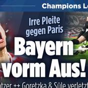 «Une blague», «un cadeau de Pâques tardif», la presse allemande égratigne le Bayern après la défaite contre le PSG