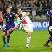 Zlatan Ibrahimovic contre Anderlecht en 2013