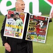 «Faites la queue pour vous excuser auprès de Madrid» : la presse espagnole de nouveau conquise par Zidane