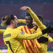 Griezmann et Dembélé brillent avec le Barça