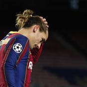 «Ils nous ont roulé dessus» : Griezmann sans voix après l'humiliation du Barça