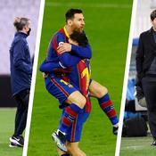 Angel Di Maria, Lionel Messi, Mauricio Pochettino