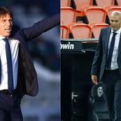 Inter Milan-Real Madrid : le match qui fait peur à Conte et Zidane