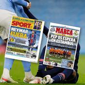 La presse européenne accompagne la sortie d'un PSG «détruit», «torpillé» par le «football total» de «l'historique» Manchester City