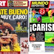 «Le Barça découvre la cruauté du football»