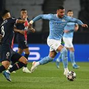 Une possession en début de match pour Manchester City