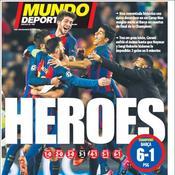 «Le délire. Le miracle. La vie» : revue de presse de la retentissante qualification du Barça